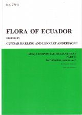 Flora of Ecuador, Volume 77, Part 190 (6): Compositae-Heliantheae (2-Volume Set)