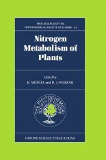 Nitrogen Metabolism of Plants