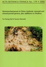 Acta Botanica Fennica, Vol. 179: Hymenochaetaceae in China: Hydnoid, Stereoid and Annual Poroid Genera, Plus Additions to Phellinus Image