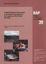 A Rapid Biological Assessment of the Aquatic Ecosystems of the Coppename River Basin, Suriname
