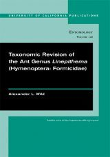 Taxonomic Revision of the Ant Genus Linepithema (Hymenoptera: Formicidae)
