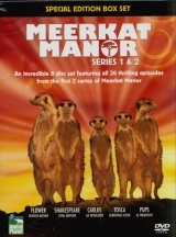 Meerkat Manor - DVD: Series 1 & 2 Boxset (Region 2) Image
