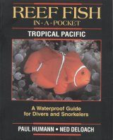 Reef Fish In-A-Pocket Waterproof Mini-Books: Tropical Pacific