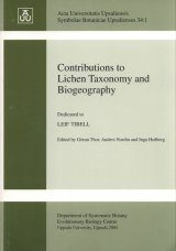 Contributions to Lichen Taxonomy and Biogeography