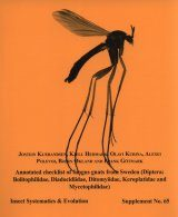 Annotated Checklist of Fungus Gnats from Sweden Image