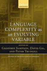 Language Complexity as an Evolving Variable Image