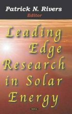 Leading Edge Research in Solar Energy