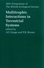 Multitrophic Interactions in Terrestrial Systems Image