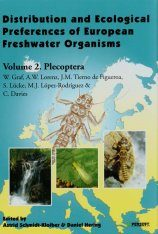 Distribution and Ecological Preferences of European Freshwater Organisms, Volume 2: Plecoptera Image