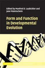 Form and Function in Developmental Evolution Image