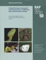 A Rapid Biological Assessment of the Konashen Community Owned Conservation Area, Southern Guyana