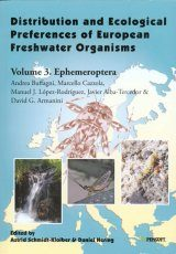 Distribution and Ecological Preferences of European Freshwater Organisms, Volume 3: Ephemeroptera Image