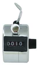 Stainless Steel Hand-Held Counter