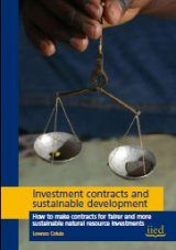 Investment Contracts and Sustainable Development Image