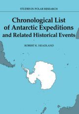 Chronological List of Antarctic Expeditions and Related Historical Events Image