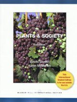 Plants and Society (International Edition) Image