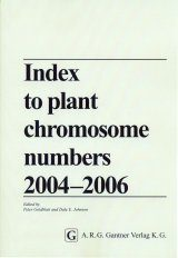 Index to Plant Chromosome Numbers 2004 - 2006