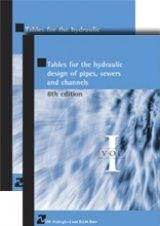 Tables for the Hydraulic Design of Pipes, Sewers and Channels (2-Volume Set)