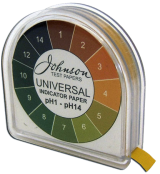 Johnson Universal pH Indicator Paper