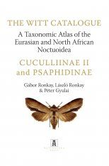The Witt Catalogue, Volume 5: A Taxonomic Atlas of the Eurasian and North African Noctuoidea