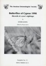 Butterflies of Cyprus 1998