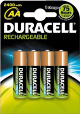 Rechargeable AA Alkaline Battery (HR6): 4 pack