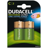 Rechargeable C-Cell Alkaline Battery (HR14): 2 Pack