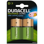 Rechargeable D-Cell NiMH Battery (HR20): 2 Pack