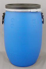 Blue Open Top Keg