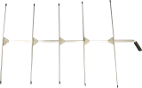 Long 5-Element Yagi Handheld Antenna 173 MHz