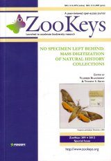 ZooKeys 209: No Specimen Left Behind: Mass Digitization of Natural History Collections