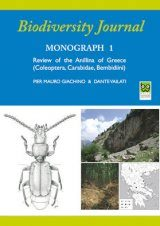 Review of the Anillina of Greece (Coleoptera, Caraibdae, Bembidiini)