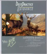 Best Practice Guidance on the Management of Wild Deer in Scotland