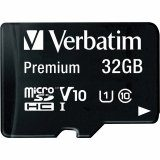 Verbatim microSDHC Flash Memory Card - 32GB