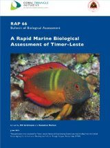 A Rapid Marine Biological Assessment of Timor-Leste Image