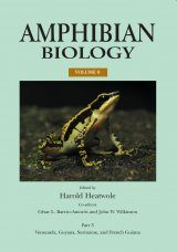 Amphibian Biology, Volume 9, Part 3