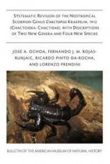 Systematic Revision Of The Neotropical Scorpion Genus Chactopsis Kraepelin, 1912 (Chactoidea: Chactidae)