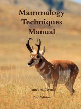 Mammalogy Techniques Manual