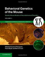 Behavioral Genetics of the Mouse, Volume 2