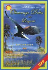 The Shell Tourist Map of the Okavango Delta and Linyanti
