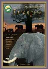 The Tourist Map of Tarangire National Park, Tanzania