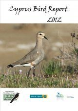 Cyprus Bird Report 2012 Image