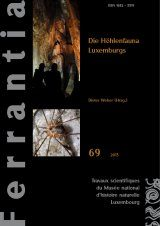 Ferrantia, Volume 69: Die Höhlenfauna Luxemburgs [The Cave Fauna of Luxembourg]