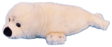 Harp Seal Soft Toy