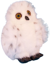 Snowy Owl Soft Toy