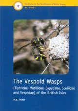 RES Handbook, Volume 6, Part 6: The Vespoid Wasps (Tiphiidae, Mutillidae, Sapygidae, Scoliidae and Vespidae) of the British Isles Image
