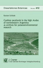 Cushion Peatlands in the High Andes of Northwestern Argentina as Archives for Palaeoenvironmental Research Image