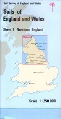 Soils of England and Wales, Sheet 1 (Folded): Northern England