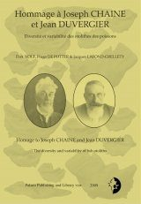Homage to Joseph Chaine and Jean Duvergier / Hommage à Joseph Chaine et Jean Duvergier