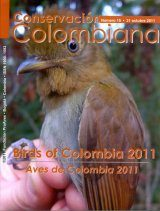 Conservación Colombiana 15: Birds of Colombia 2011 / Aves de Colombia 2011